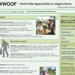 Le site officiel du Wwoof